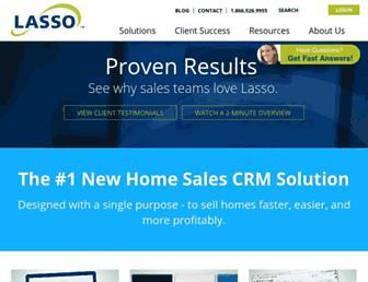 lassocrm.com screenshot