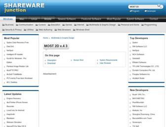 most-2d.sharewarejunction.com screenshot