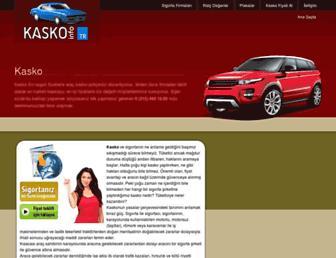kasko.info.tr screenshot