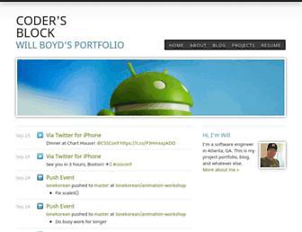 codersblock.com screenshot