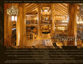 hearthstonehomes.com screenshot