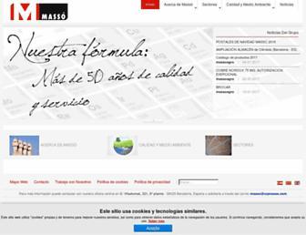 cqmasso.com screenshot