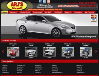 arjsauto.com screenshot