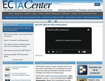 ectacenter.org screenshot