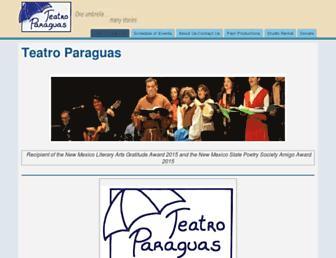 teatroparaguas.org screenshot