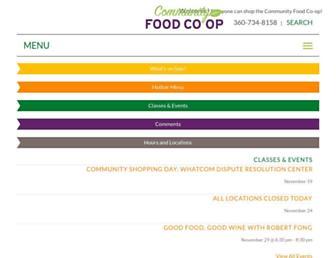communityfood.coop screenshot