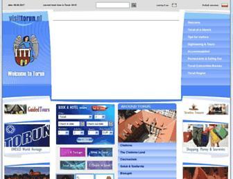 visittorun.pl screenshot
