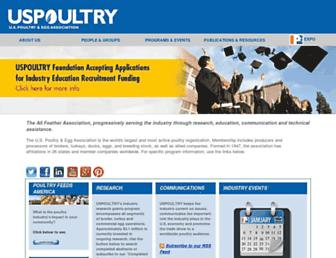 uspoultry.org screenshot