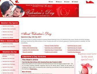 Thumbshot of Stvalentinesday.org