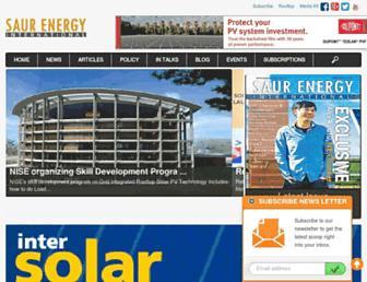 saurenergy.com screenshot