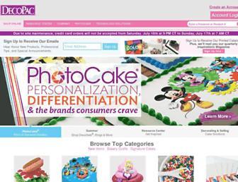 decopac.com screenshot