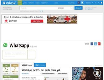whatsapp.en.softonic.com screenshot