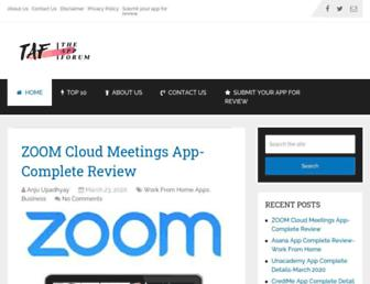 theappforum.com screenshot