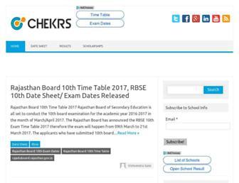 schools.chekrs.com screenshot