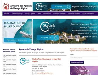 agence-voyage-algerie.com screenshot