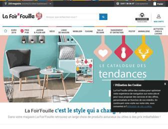 lafoirfouille.fr screenshot
