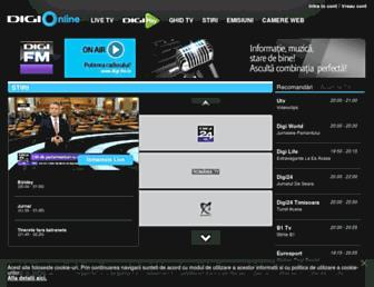 digi-online.ro screenshot