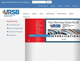 ursb.go.ug screenshot
