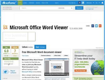 microsoft-office-word-viewer-2007.en.softonic.com screenshot