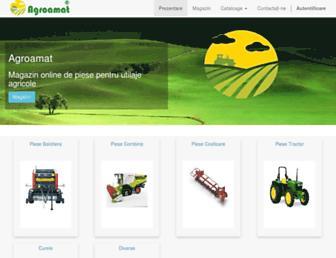 agroamat.ro screenshot