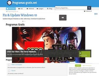 programas-gratis.net screenshot