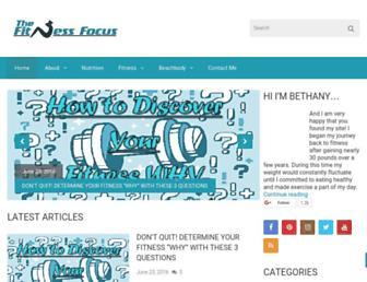 thefitnessfocus.com screenshot
