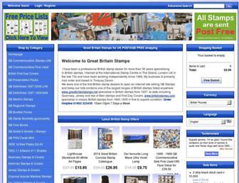 greatbritainstamps.net screenshot