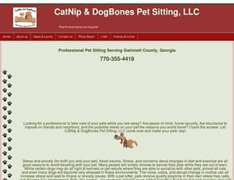 catnipanddogbones.com screenshot