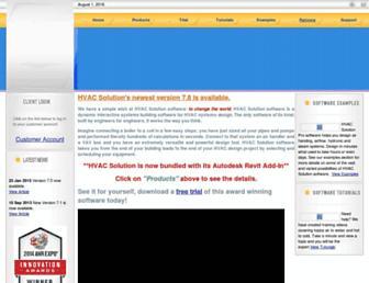 hvacsolution.com screenshot