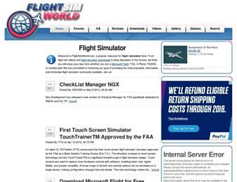 flightsimworld.com screenshot