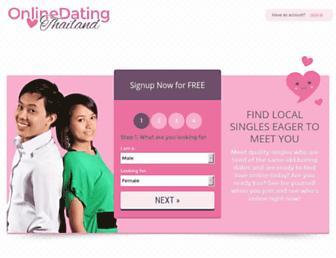 Thumbshot of Onlinedatingthailand.net