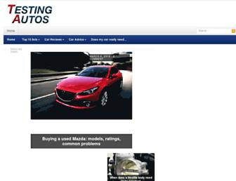 testingautos.com screenshot