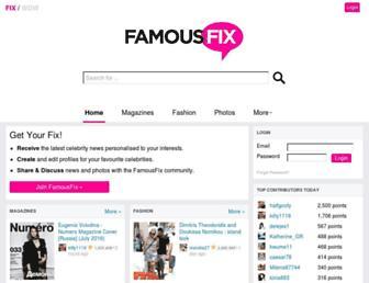 famousfix.com screenshot