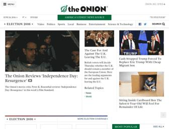 Thumbshot of Theonion.com