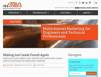 industrialmarketer.com screenshot