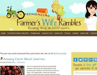 Thumbshot of Farmerswiferambles.com