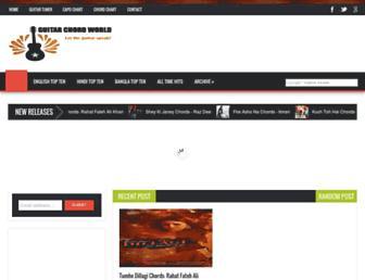 guitarchordworld.net screenshot
