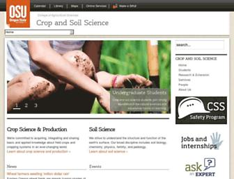 cropandsoil.oregonstate.edu screenshot