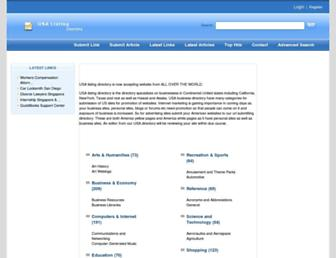 Thumbshot of Usalistingdirectory.com