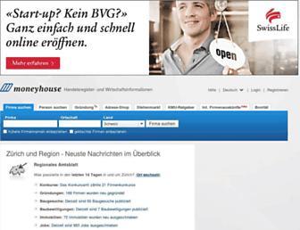 moneyhouse.ch screenshot
