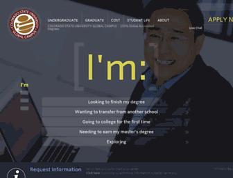 csuglobal.edu screenshot