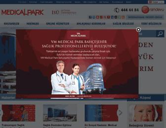 medicalpark.com.tr screenshot