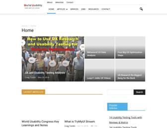 usefulusability.com screenshot