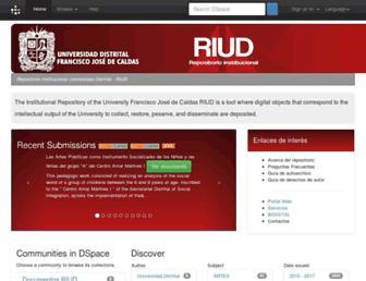 repository.udistrital.edu.co screenshot