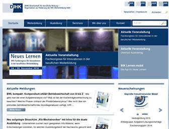 dihk-bildungs-gmbh.de screenshot