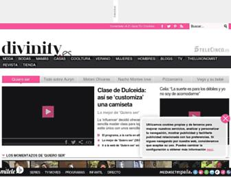 divinity.es screenshot