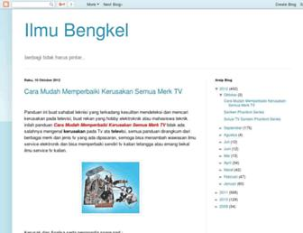 ilmubengkel.blogspot.com screenshot