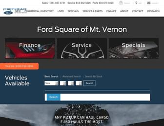 fordsquare.com screenshot