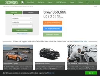 carsite.co.uk screenshot