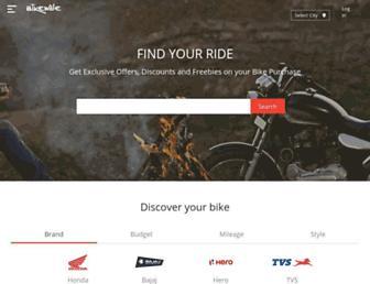 bikewale.com screenshot
